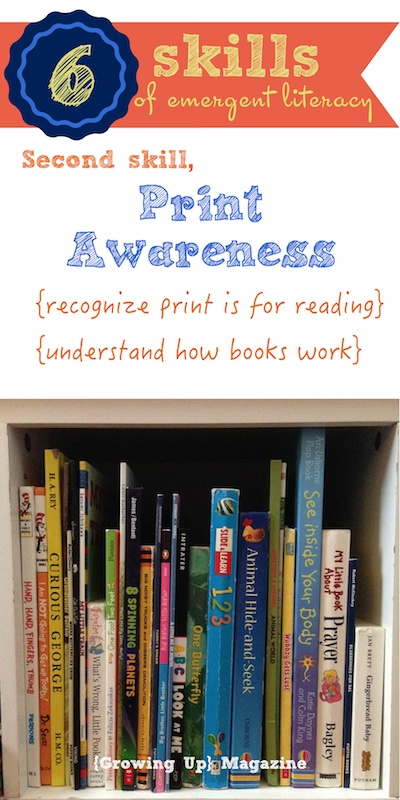 Print Awareness in Emergent Literacy