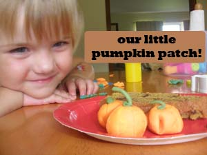 Pumkin patch and snack
