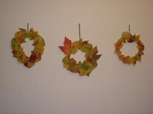leaf-wreaths