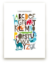 Customizable Alphabet from Minted