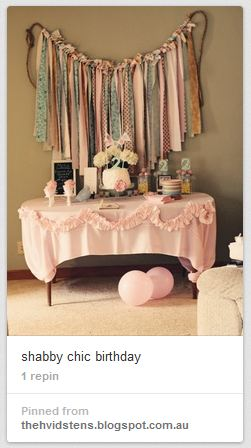 shabby chic banner