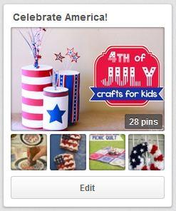 Celebrate America board