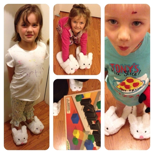 Tibbar Bunny Slippers from Simply Fun