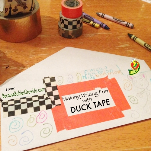 Making Writing Fun with Duck Tape