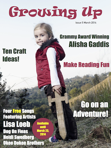 Growing Up March 2014 Issue 5