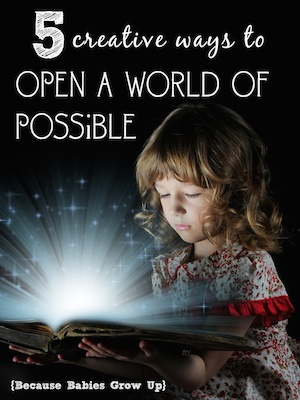 Ideas for Scholastic's Open a World of Possible Initiative.