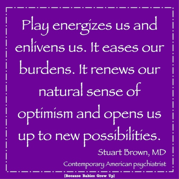 Stuart Brown on play: Play energizes us