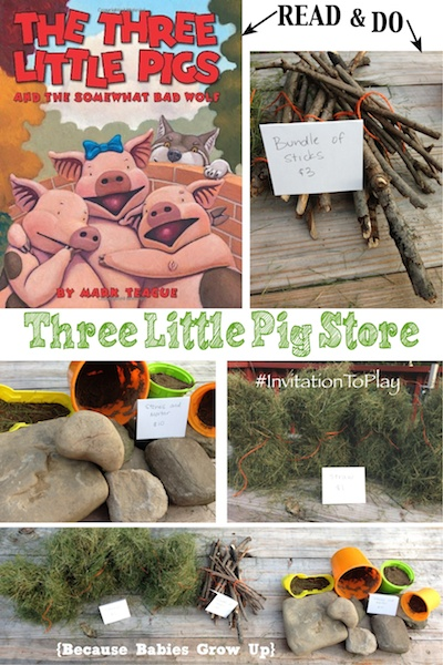 Three Little Pigs Store