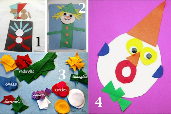 Shapes Crafts for Kids