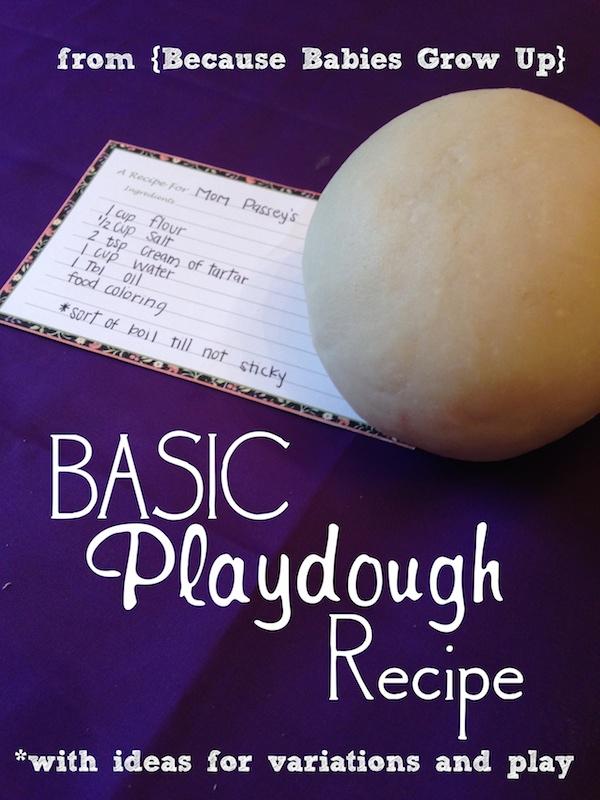 Easy Playdough Recipe