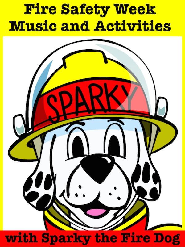 sparky the fire dog craft. sparky the fire dog craft