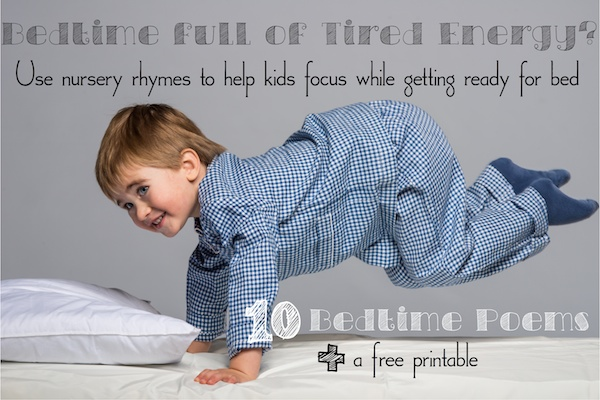 Bedtime Poems For Babies Bedtime Poems